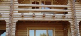 Изготовления срубов домов оцилиндрованное бревно