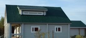 Производство домов из оцилиндрованного бревна