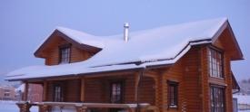 Строительство дома из бревна с утеплением стен изнутри