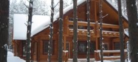 Дома из северного леса